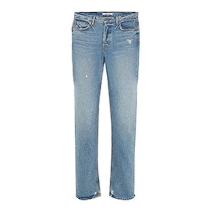Helena High-Rise Straight-Leg Jeans