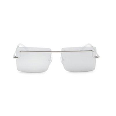The International 58MM Square Sunglasses