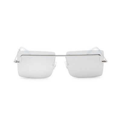 The International 58MM Square Sunglasses