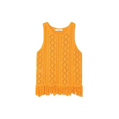 Fringe Crochet Top