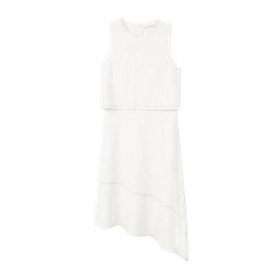 Contrast Seam Dress