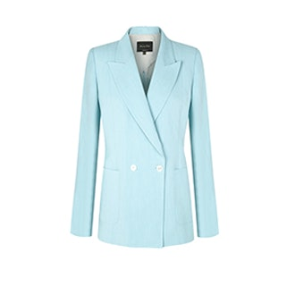 Limited Edition Double Breasted Linen Suit Blazer