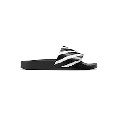 Off-White Off Spray Printed Rubber Slides