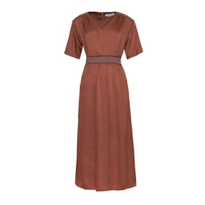 Sabine Silky Maxi Dress