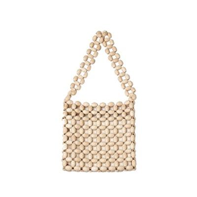 Wood Bead Bag