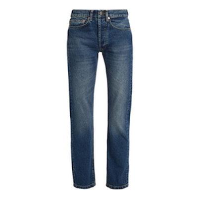 Raey Clean Hemmed Cigarette-Leg Jeans