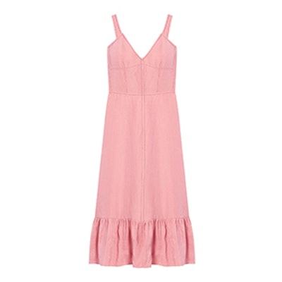 Club Linen Slip Dress