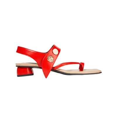 Reike Nen Embellished Flat Sandals