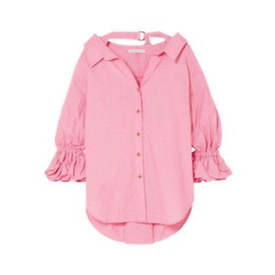 Amber Oversized Cotton Shirt