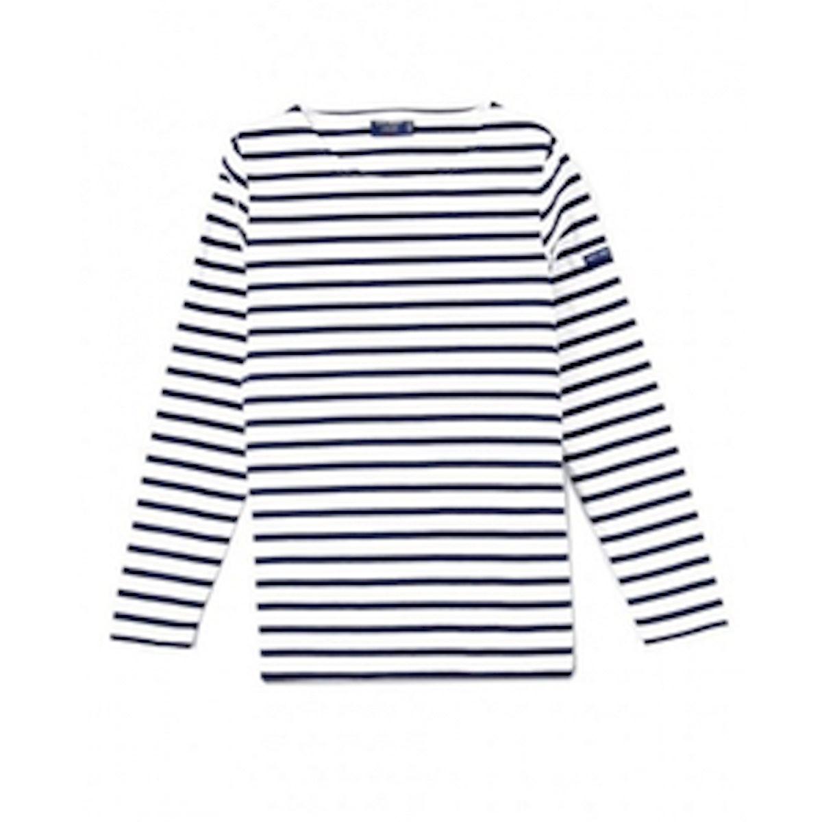 Breton Striped Shirt with Long Sleeve