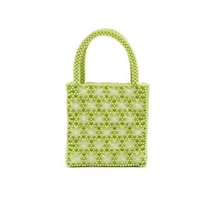 Venezia Faux-Pearl Embellished Bag