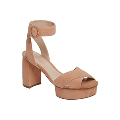 Carmina Ankle Strap Platform Sandal