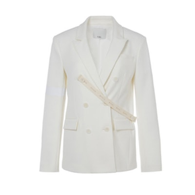 Mora Suiting Steward Blazer with Stripe