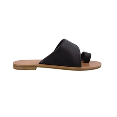 Nero Black Sheep Nappa Sandals