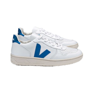 V-10 Extra White Swedish Blue Sneakers