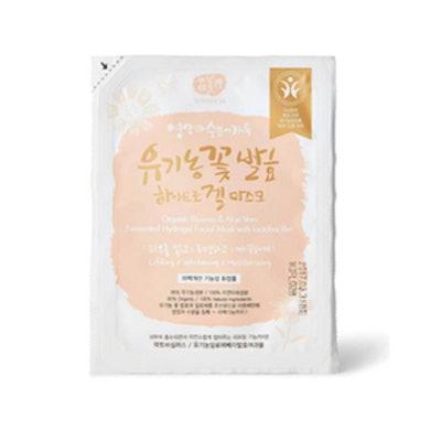Organic Flowers & Aloe Vera Fermented Hydrogel Sheet Mask