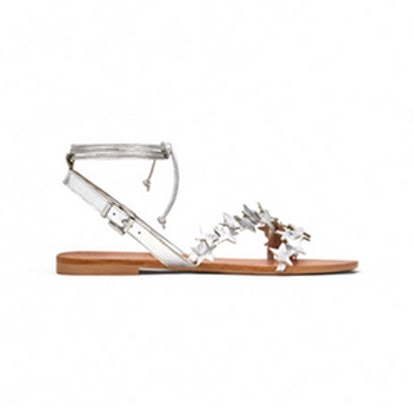Leather Sandals With Stars
