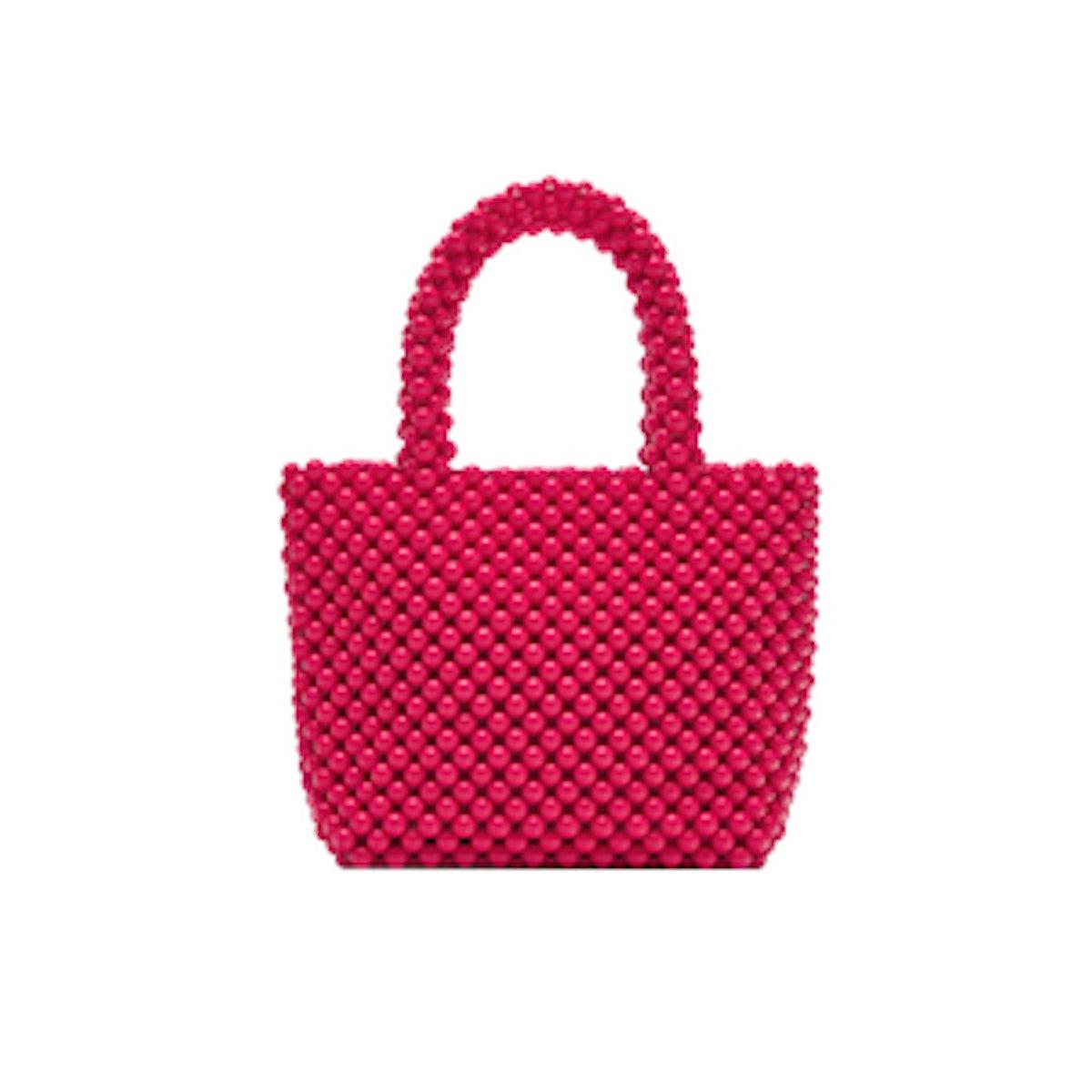 Mini Tote Bag With Studs