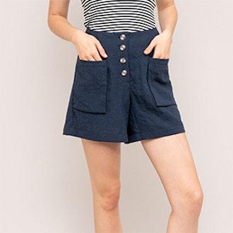 Gemini Button Shorts