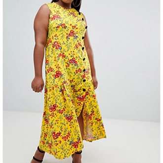 Design Curve Maxi Tea Dress
