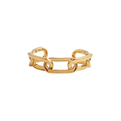 Gold-Plated Link Cuff
