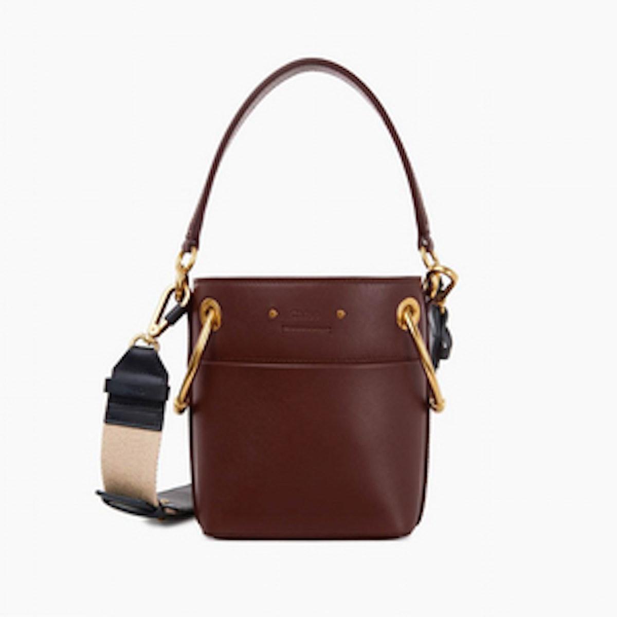 Mini Roy Bucket Bag in Smooth Calfskin