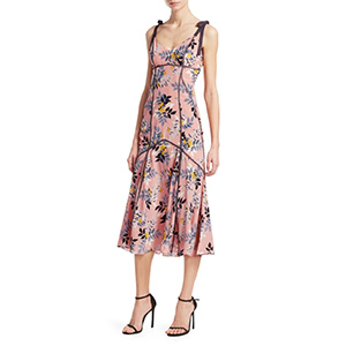 Ainsley Floral-Print Dress