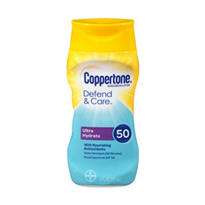 Coppertone Defend And Care Ultra Hydrate Sunscreen Lotion