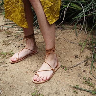 Asymmetrical Gladiator Sandals