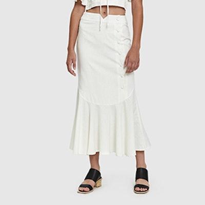 Bauer Linen Maxi Skirt