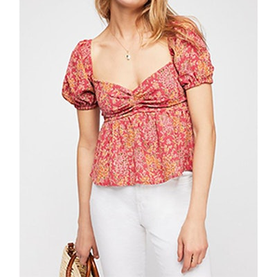 Riviera Printed Top