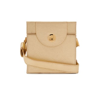 Cube Leather Clutch