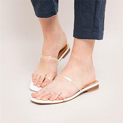 Jagger Perspex Sandals