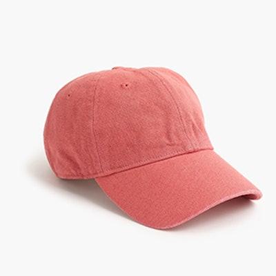 Garment Dyed Baseball Cap