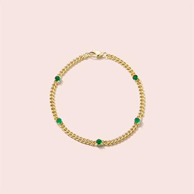 Toujours Emerald Bracelet