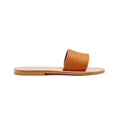 Anacapri Leather Slides