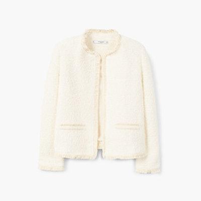 Trim Tweed Jacket
