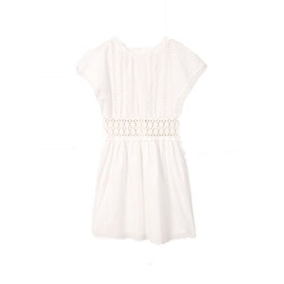 Guipure Cotton Dress