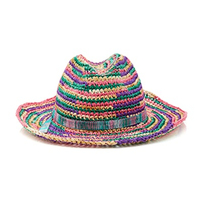 Multicolored Braided Hat