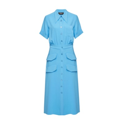 Rochas Onachom Pocket Shirt Dress