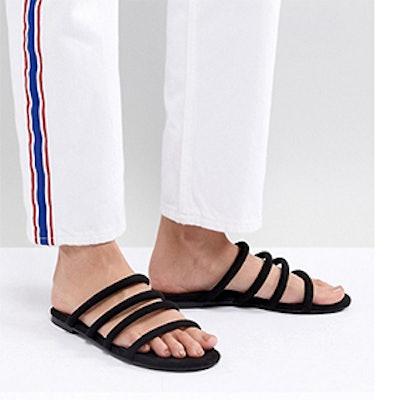Monki Multi Strap Sandals
