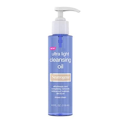 Neutrogena Ultra Light Face Cleansing Oil & Makeup Remover