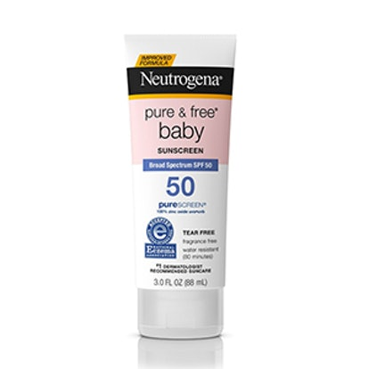 Pure & Free Baby Sunscreen Lotion – SPF 50