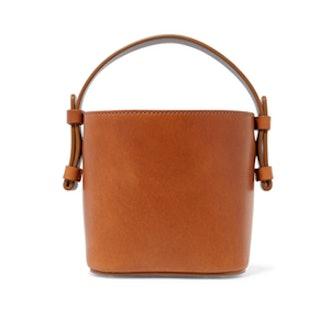 Adenia Mini Leather Bucket Bag