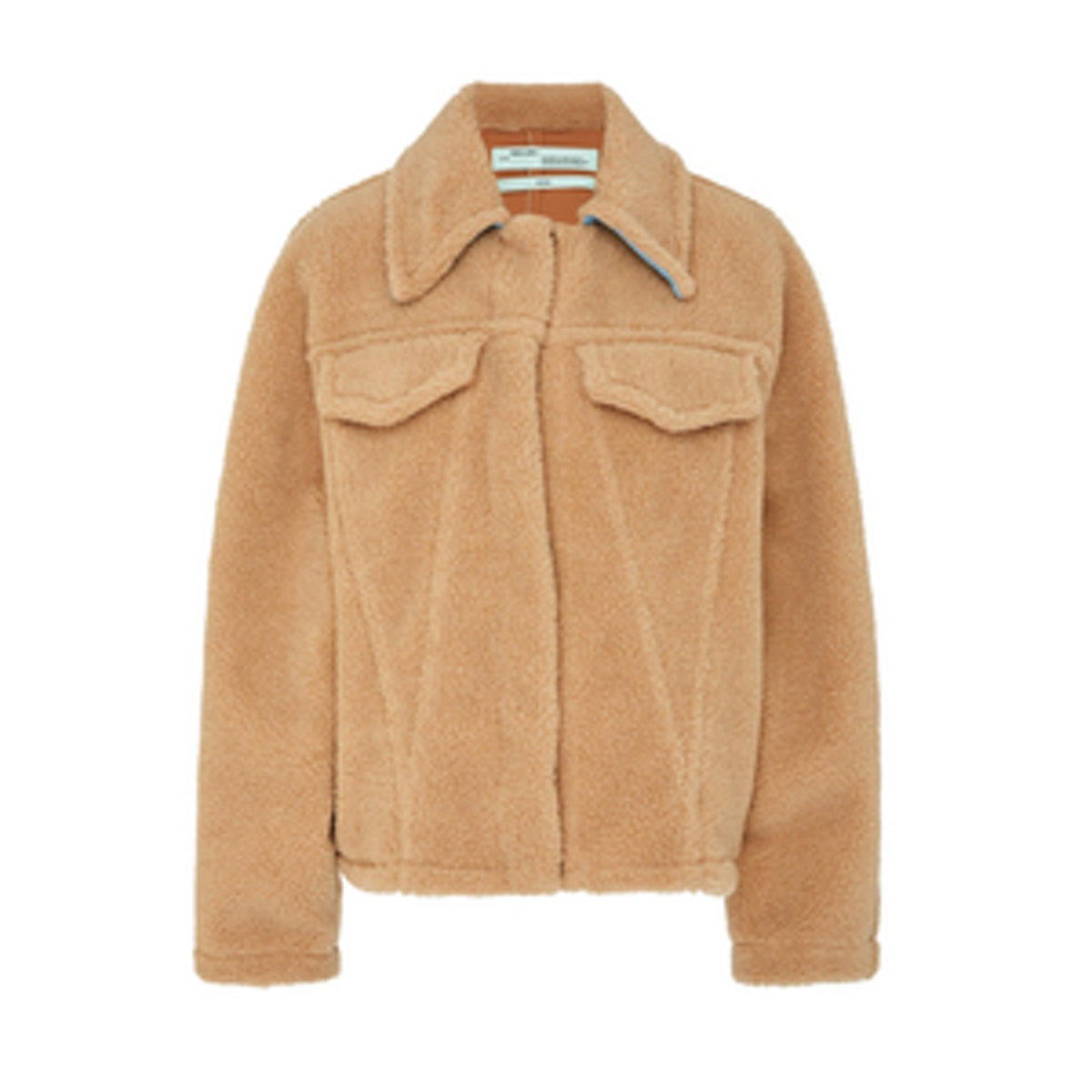 Bear Faux Shearling Jacket