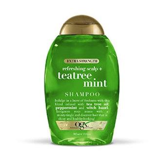 Extra Strength Refreshing Scalp Tea Tree Mint Shampoo