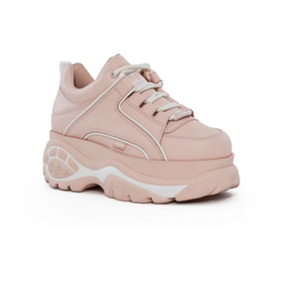 Pink Low-Top Platform Sneaker