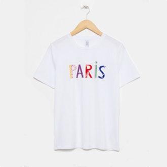 Paris Patch Letter Tee