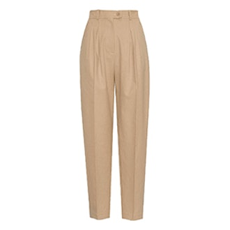 Tan High Waist Pants