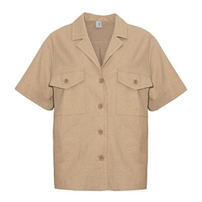 Tan Utility Shirt